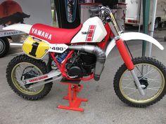 1985- Yamaha YZ490