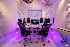 W&W's studio custom built by Q82 Acoustics