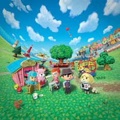 Animal Crossing New Leaf - BoxArt Wallpaper by Kharthoffen on DeviantArt