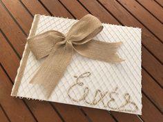Βιβλίο ευχών γάμου... Gift Wrapping, Tableware, Gifts, Gift Wrapping Paper, Dinnerware, Presents, Wrapping Gifts, Tablewares, Favors