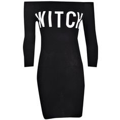 Petite Jess 'Witch' Choker Halloween Bodycon Dress ($15) ❤ liked on Polyvore featuring dresses, bodycon dress, petite dresses, body conscious dress, body con dress and petite bodycon dresses
