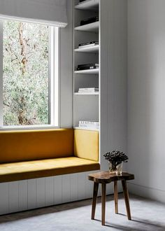 Great window seat ideas - ideas around the house - - # ideas rund ums haus garten Australian Interior Design, Interior Design Awards, Built In Seating, Built In Bench, Seating Areas, Table Seating, Kitchen Bench Seating, Booth Seating, Window Seat Kitchen