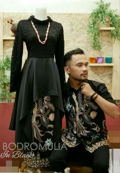 Model Dress Batik, Batik Dress, Batik Fashion, Abaya Fashion, Blouse Batik Modern, Dress Batik Kombinasi, Dress Sewing Patterns, Blouse Patterns, Dress Brukat