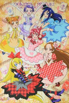 Futari Wa Pretty Cure, Doki, Glitter Mason Jars, Glitter Girl, Glitter Force, Manga Games, Anime Art Girl, Magical Girl, Kawaii Anime