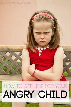 The best ways for how to help an angry child. Really helpful!