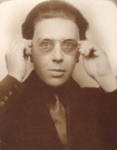 Andre Breton, 70s photo booth hipster 1928!