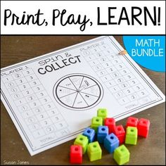 Print and play math games! These partner math games are all black and white and require no prep. Students practice fluency with addition, subtraction, number sense, place value and more with these fun games! Play Math Games, Number Sense Activities, Senses Activities, Phonics Games, Math Activities, Fun Games, Math Worksheets, Poetry Activities, Phonics Lessons