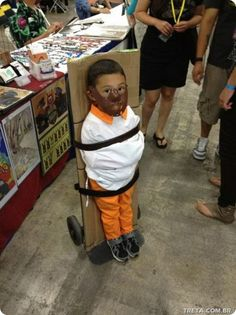 Kids costume? Or a way to keep them in line in public? Haha!
