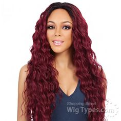 It's A Lace Front Wig - Synthetic Lace Front Wig - SWISS LACE BOSTON (4x4 Silk Lining Lace Front) [10972]