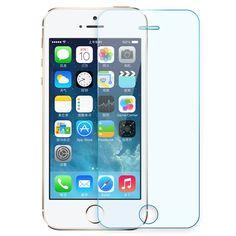 Kisscase für iphone 5 s se hartglas displayschutzfolie für apple iphone 5 5 s 5c 5g se schutz schutz film screen protector