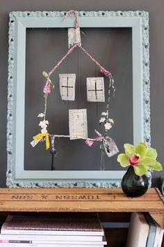 DIY: Little House Mobile | decor8 -a tut