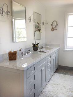 Carrara bathroom reveal. Design Intervention Diary
