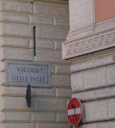 Vicolo delle Palle Roma