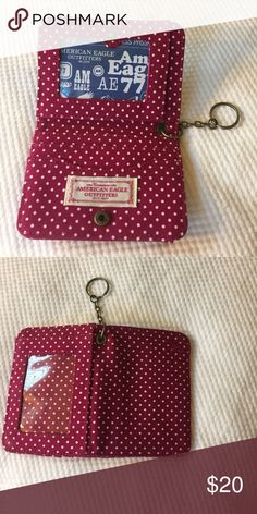 12 HOUR DISCOUNT A & E Keychain Wallet American Eagle Outfitters Keychain Wallet, great condition, never used American Eagle Outfitters Bags Wallets