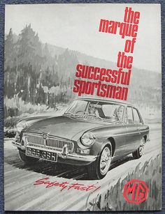 """The Marque of the Successful Sportsman"" @MGmotor #PVGP Marque of the Year 2012!"