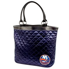 New York Islanders NHL Quilted Tote (Navy)