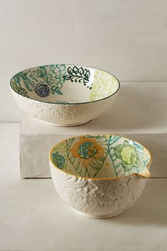 Arnoldia Mixing Bowl - anthropologie.com #anthrofav These are so pretty!