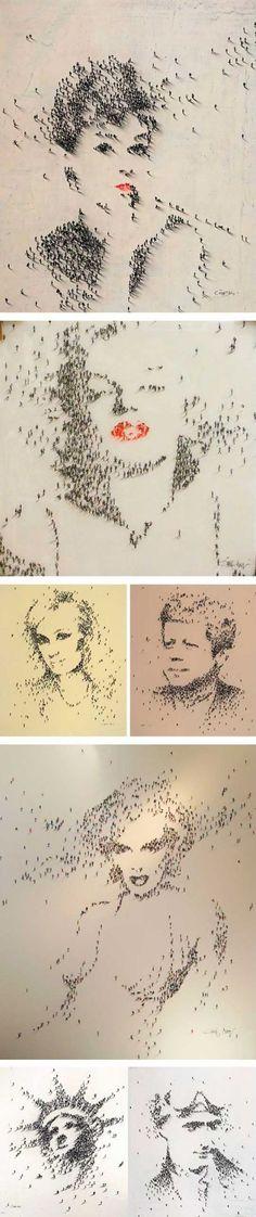 People as Pixels by Craig Alan