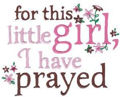 695 Baby Girl Sentiments