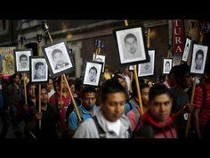 Мексика: родители похищенных и убитых студентов хотят узнать правду - YouTube
