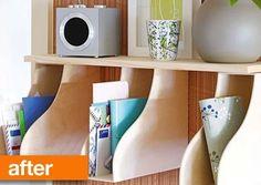 Mail Organizer Shelf