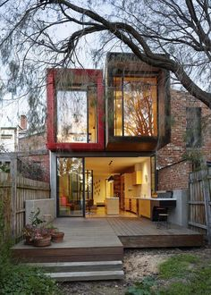 Moor House by Andrew Maynard Architects as Architects