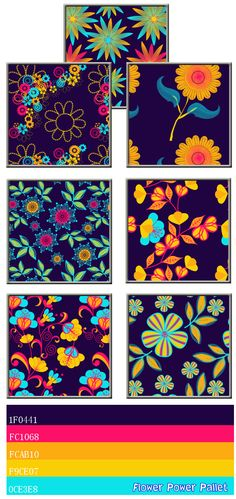 Bright colors! Patterns for Sims 3