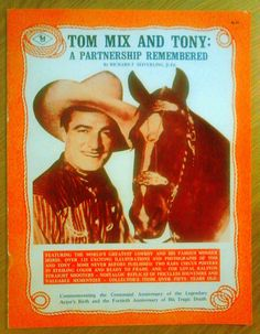 Tom Mix - cowboy movie star of the 1920s