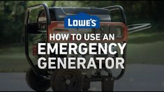 When your power goes out and you don't have a standby generator, a portable generator is a handy backup to provide power until electricity is restored. Learn the proper way to use a portable generator.