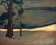 Munch-Winter in Nordstrand    1900-03