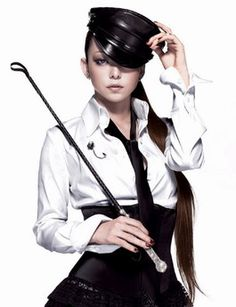 """Namie Amuro... loved he since I was in high school.  This is from the cover of her """"Play"""" album."""