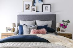 My bedroom makeover + win a $1,000 west elm voucher for yours! - The Interiors Addict