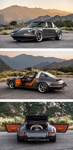 The Singer Porsche 911 Targa isn't a Porsche restored, it's a Porsche re-imagined: new from the ground up.