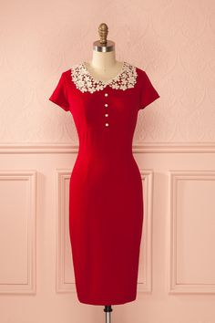 Red dress - Valentine's day - Caitriona Passion from Boutique 1861 www.1861.ca
