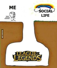 My favorite random League thing: The acronym is LOL which could be League of Legends or Laugh out Loud or Lots of Love, so whenever I see LOL I can't decide which one to think it is XD Memes League Of Legends, Morgana League Of Legends, League Of Legends Boards, League Memes, Nerd Geek, Geek Out, Leg Of Legend, Geek Games, Fun Comics