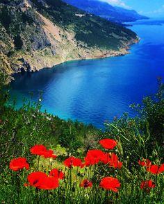 Omis, Croatia. Driving the coast from Split to Dubrovnik - so beautiful. June, 2o16