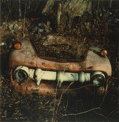 Walker Evans, Junked Car, Old Lyme, Connecticut, 1973-74