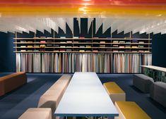 kvadrat textiles stockholm furniture fair 2015 Shop Interior Design, Store Design, Curtain Shop, Space Fabric, Fabric Display, Reupholster Furniture, Lighting Showroom, Shop House Plans, Colors
