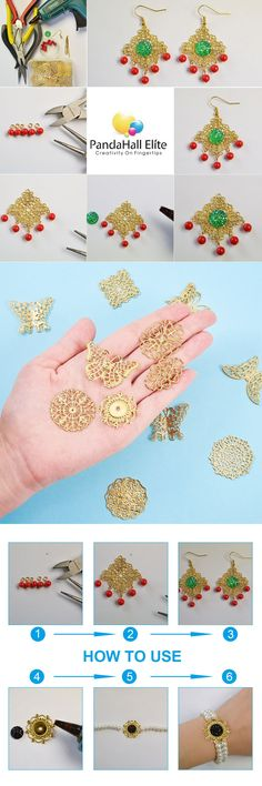 pandahall Elite 50pcs 5 Styles Alloy Rhinestone Charms Crystal Pendants for Bracelet Necklace Earring Jewelry Making Triangle, Star, Crown, Heart, Flat Round