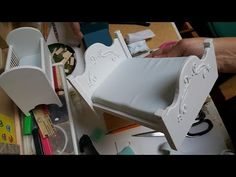 Miniature Dresser Start to Finish (Not a Tutorial) - YouTube