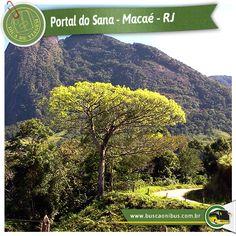 """O Sana é o sexto distrito de Macaé, no interior do estado do Rio de Janeiro. E é o distrito mais visitado da serra macaense. www.buscaonibus.com.br/destinos/rj/macae  Segundo os moradores, a localidade, apontada pelos moradores como """"paraíso ecológico"""", foi fundado em 1824 por um suíço que, fascinado com a beleza do local e com o rio que corre entre pedras, batizou o lugar de Sena, em lembrança ao rio francês."""