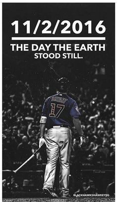 Game 7 of the World Series. Chicago Cubs vs Cleveland Indians. My late husband's dream came true tonight! He's an angel watching from heaven and I know his spirit had something to do with this win. Cubs win World Series 2016.