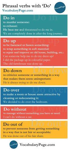 Phrasal Verbs With DO