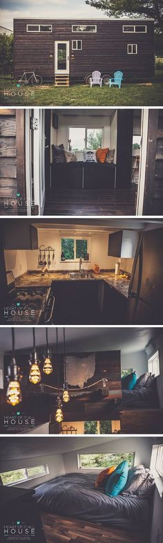 The Heart of it All House: a 349 sq ft tiny house made by its owners