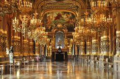 The Palais Garniers Grand Salon---Paris France