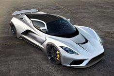 ヘネシーの新型モデル「ヴェノム F5」は最高出力1400馬力! 最高速度290mph(約466km/h)を目指す