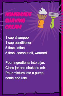Save on never-ending bottles of shaving cream by making your own. Homemade shaving cream made with 4 ingredients!  https://quickquid.co.uk/frugal-living/chapter2-home.html