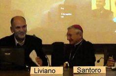 Taranto – Santoro e Liviano scoprono targa per i 150 anni di Mons Blandamura