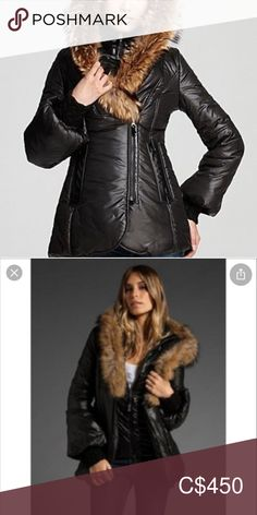 Mackage Peaches Jacker w/fox fur trim. Perfect condition, bought from Holt Renfrew. Mackage Jacket, Holt Renfrew, Plus Fashion, Fashion Tips, Fashion Trends, Fox Fur, Fur Trim, Peaches, Jackets For Women