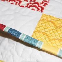 Free!  Lining up Striped Binding - via @Craftsy